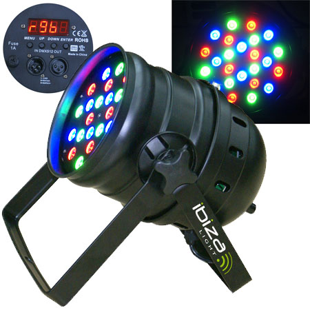 LED PAR 56 PROFESIONAL DMX 1X24W LED
