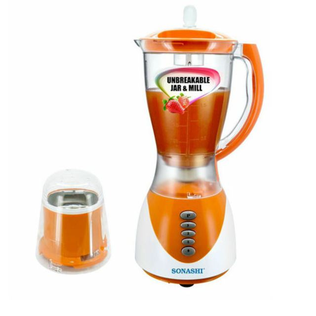Blender 2 in 1 Sonashi SB -134