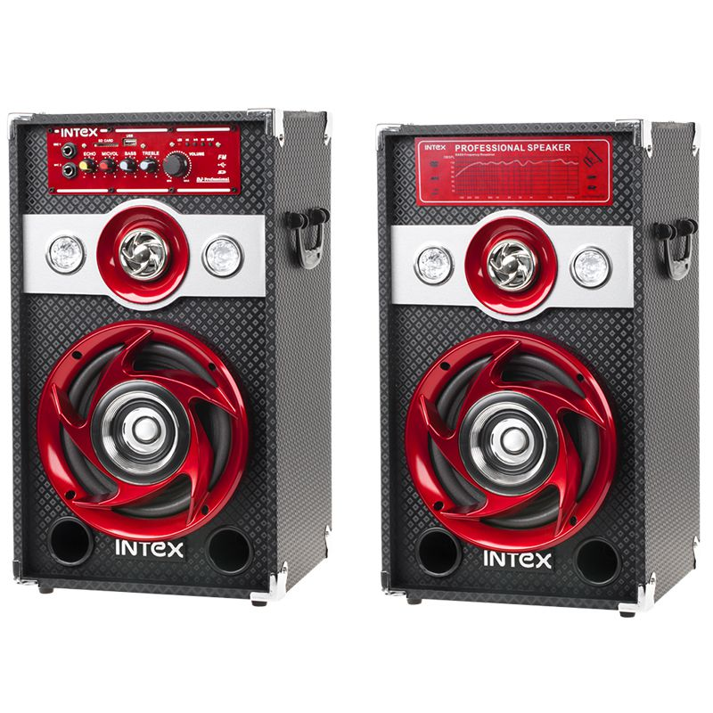 Boxe audio Intex DJ601 ,2X30W,USB,SD,FM radio --Oferta Speciala !