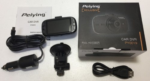Camera dvr auto full HD Peiying 2K PY0019