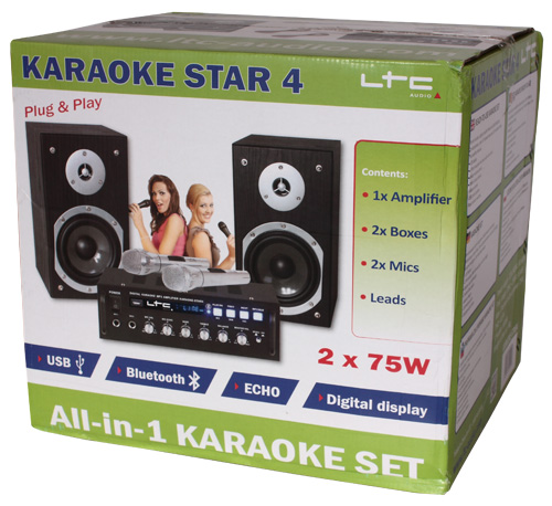 LTC Audio KARAOKE-STAR4-set