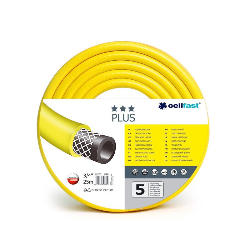 Furtun apa Cellfast PLUS, 3/4 inch, lungime 25 m