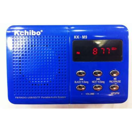 MP3 player portabil, radio Fm USB Kchibo KK-M9