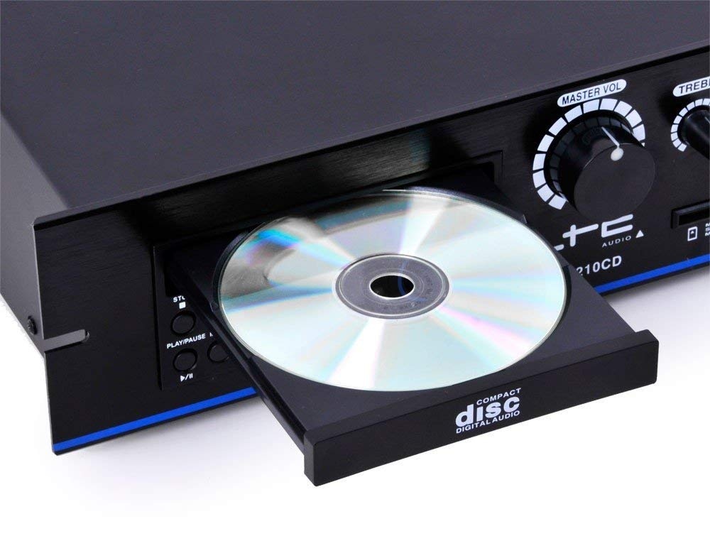 Amplificator,PA Ltc Audio PAA210CD,cu 4 canale,210W,cu DVD & USB,SD - MP3
