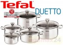 Set oale inox Tefal Duetto, 10 piese