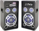"Set boxe audio Party Light&Sound Karaoke 8, 300W, USB, Aux, Bluetooth, 8""/20cm"