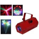 Joc  lumini disco Moon Flower Ibiza LCM003LED-RED