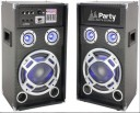 Set boxe audio Party Light &Sound Karaoke 12,600W