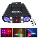 Efect  disco luminos ,combinat Ibiza Light COMBO-3IN1