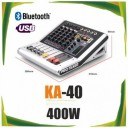 Mixer audio activ WVNGR KA-40,Bluetooth ,USB ,400W