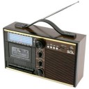 Radio casetofon SAL RRT 11B Retro MP3, USB